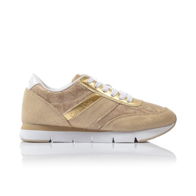 Dámske tenisky re9644 zlata Calvin klein jeans - UNISHOES.sk 02f72d8a0db