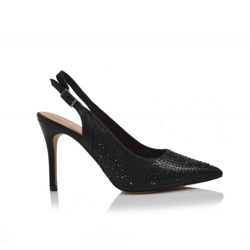 Dámske sandále spoločenské 22155 čierna
