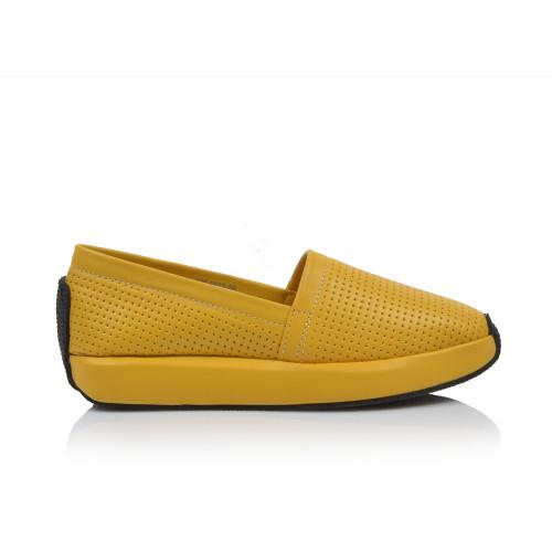 Dámske mokasíny  0445-6013 žltá