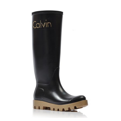 Dámske gumáky  r0694 čierna CALVIN KLEIN