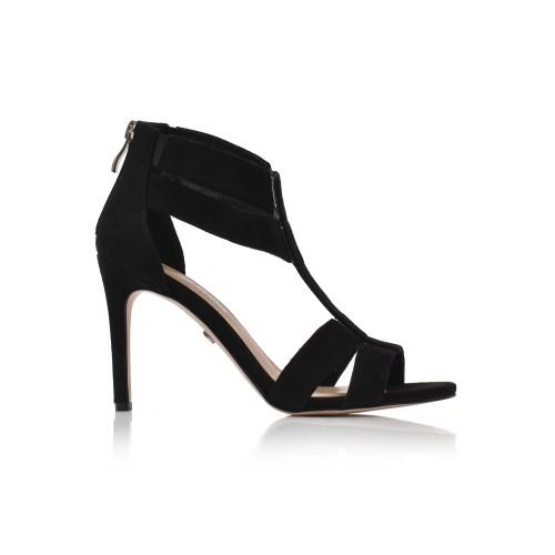 Dámske sandále spoločenské 26466 čierna