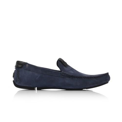 Pánske mokasíny  3153-383 navy blue