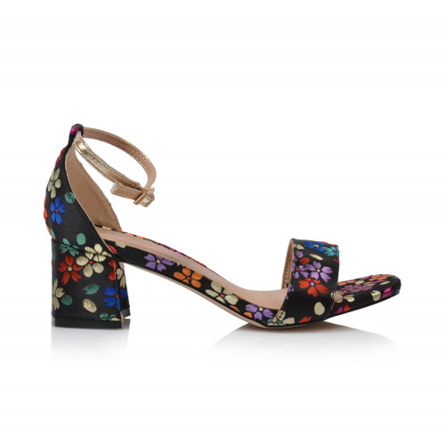 Dámske sandále na podpätku 20133dd01  farebná