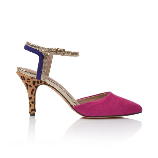 Dámske sandále na podpätku 0966dd18  ružová