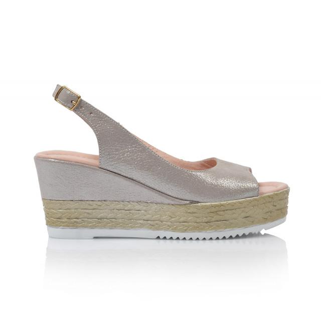 3f6085c9d755 Dámske sandále na platforme 0413-1795 šedá - UNISHOES.sk