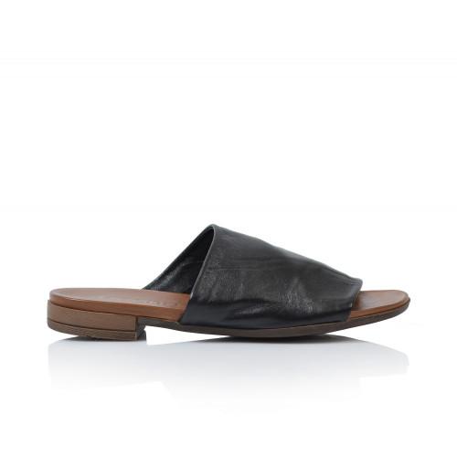 Dámske šľapky  9n0204  čierna