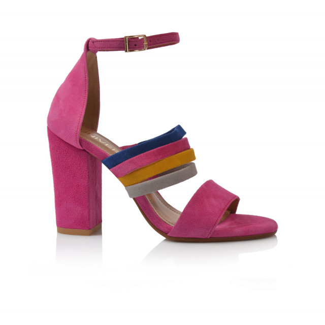 Dámske sandále na podpätku 2089  farebná
