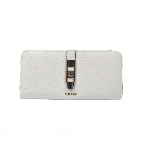 Peňaženka dámska syntetická sg739846 smotanová GUESS