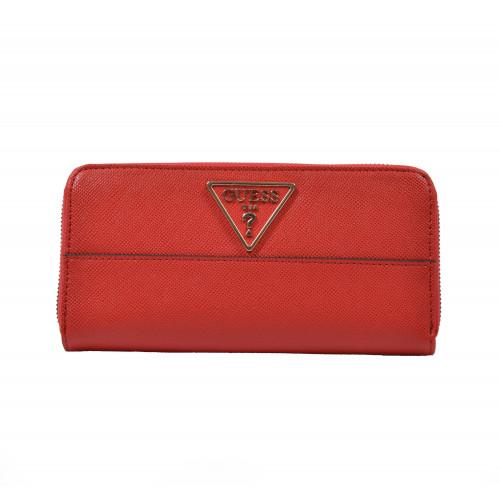 Peňaženka dámska syntetická vg740346 červená GUESS