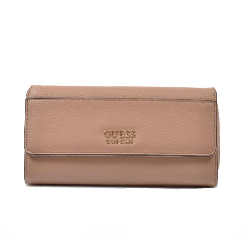 Peňaženka dámska syntetická vg743462 koňaková GUESS
