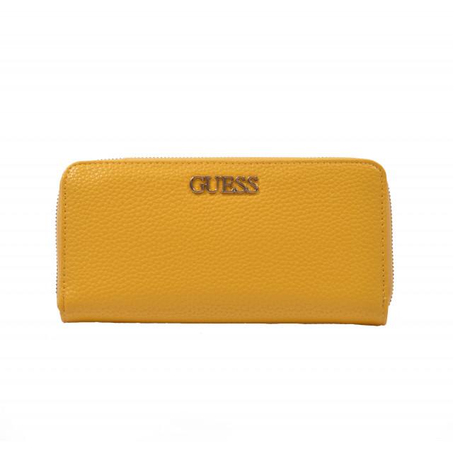 Peňaženka dámska syntetická vg745546 žltá GUESS