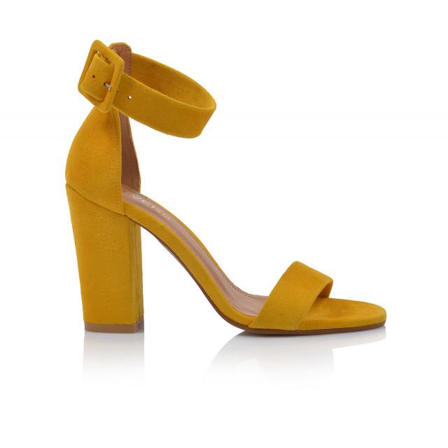 Dámske sandále na podpätku 1826-603 žltá
