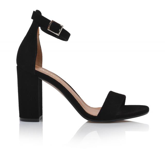 Dámske sandále na podpätku 2309-z-1 čierna