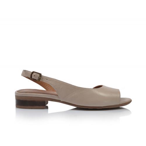 Dámske sandále nízke 20wq1007 béžová