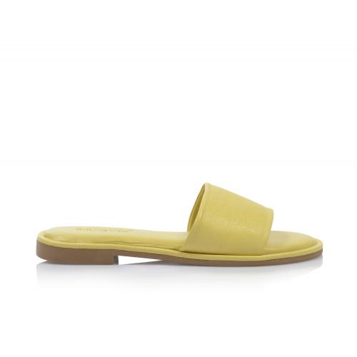 Dámske šľapky nízke 457004 žltá