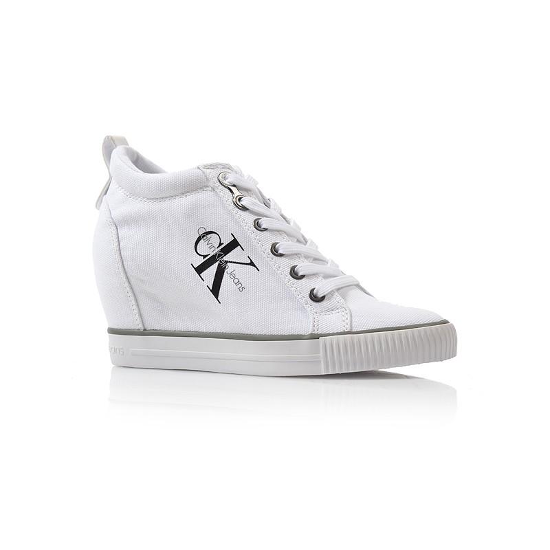 Dámske tenisky r3551 biela Calvin klein jeans - UNISHOES.sk 8264a7796c2
