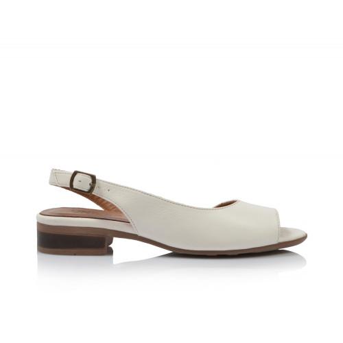 Dámske sandále nízke 20wq1007 biela