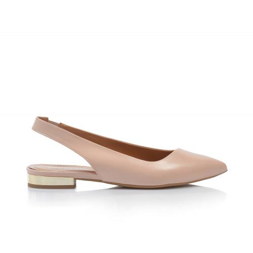 Dámske sandále nízke 2276-330 púdrová